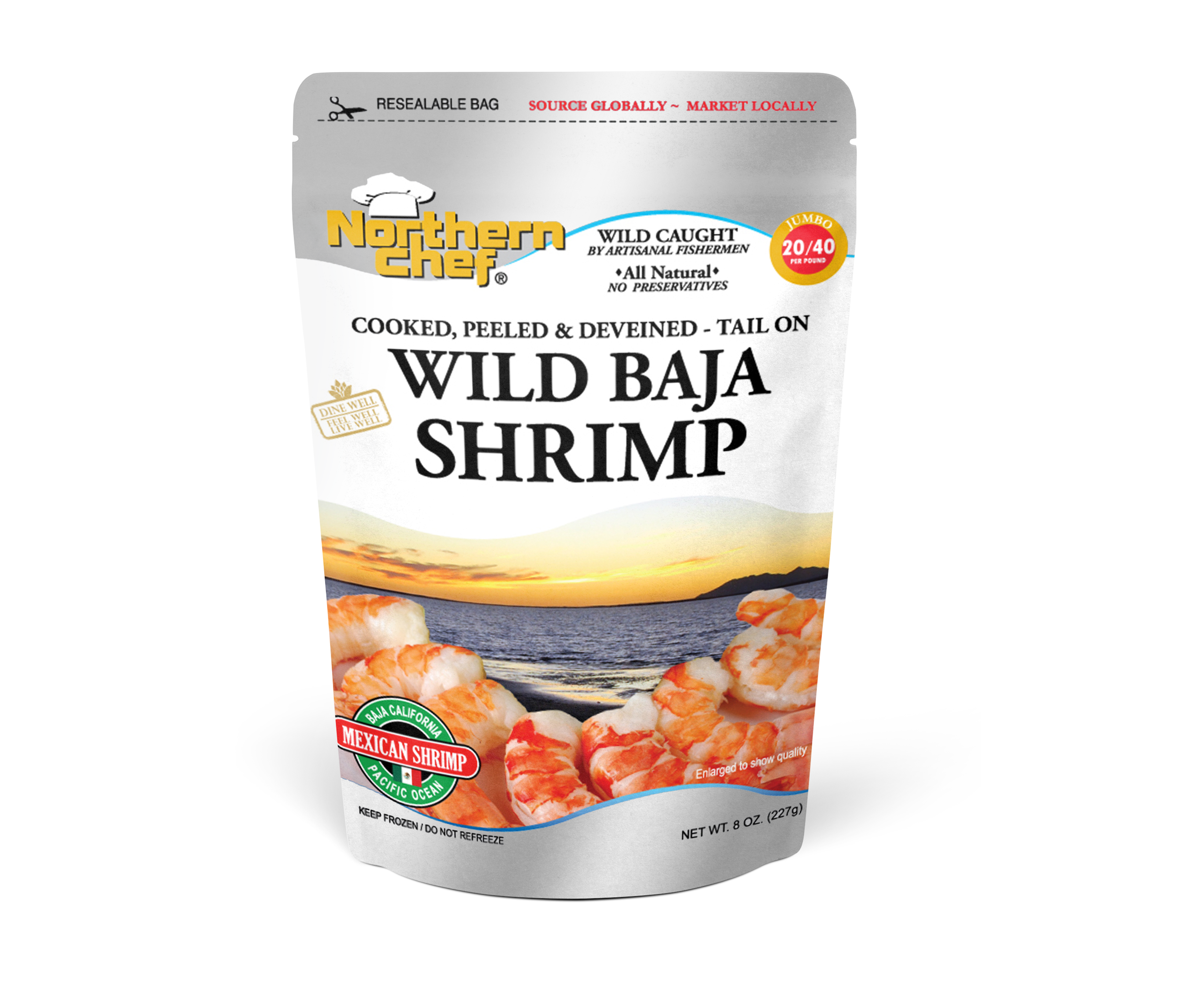 Bag - Wild Baja shrimp - 20-40