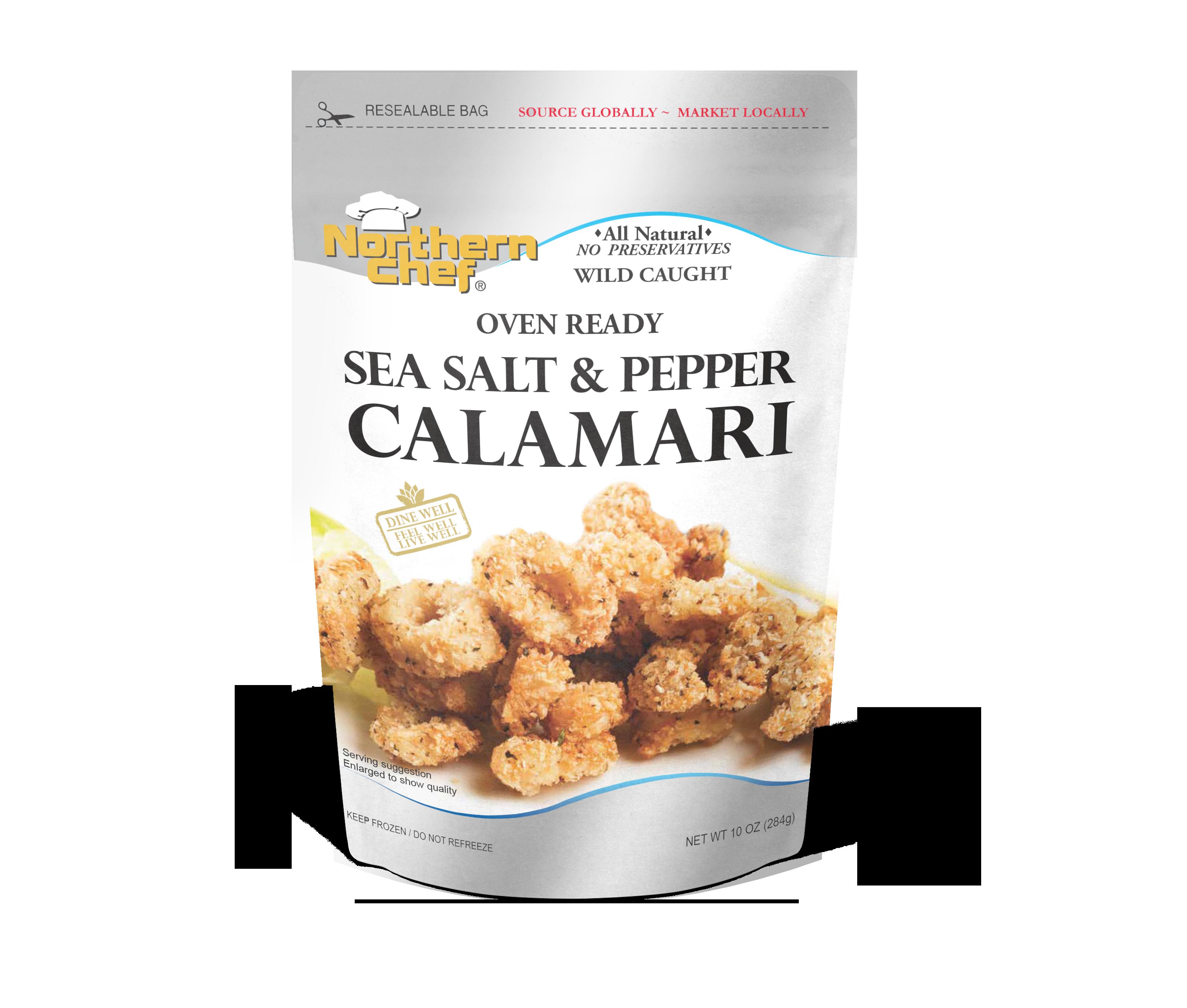Sea salt&pepper calamari