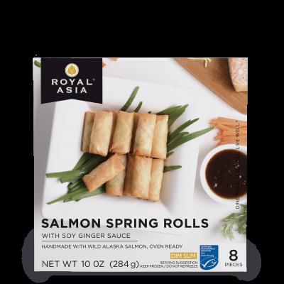 Salmon Spring Roll 10 oz - Box