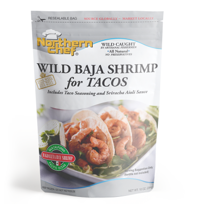 Wild Baja Shrimp for taco