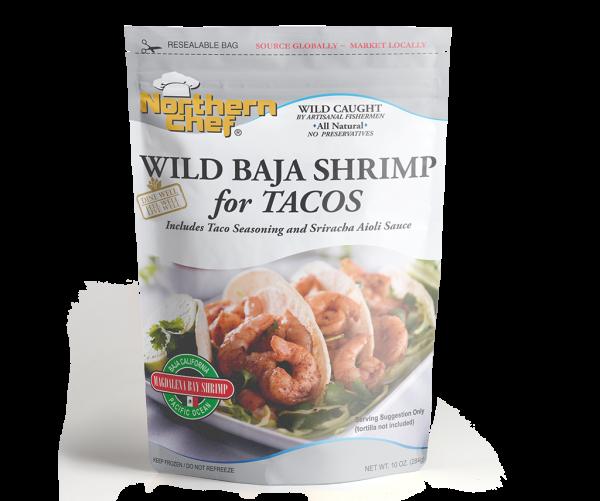 Wild Baja Shrimp for taco