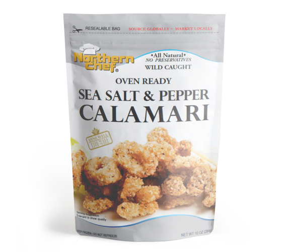sea salt & pepper calamari