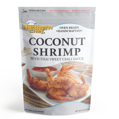 Coconut shrimp with thai sweet chili sauce