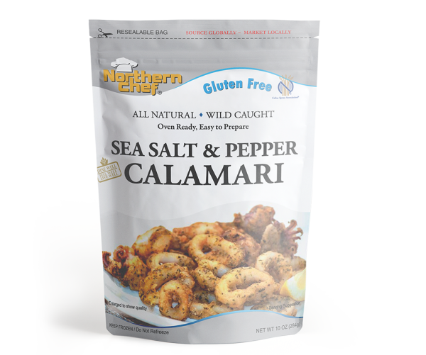 Sea Salt Calamari- GF