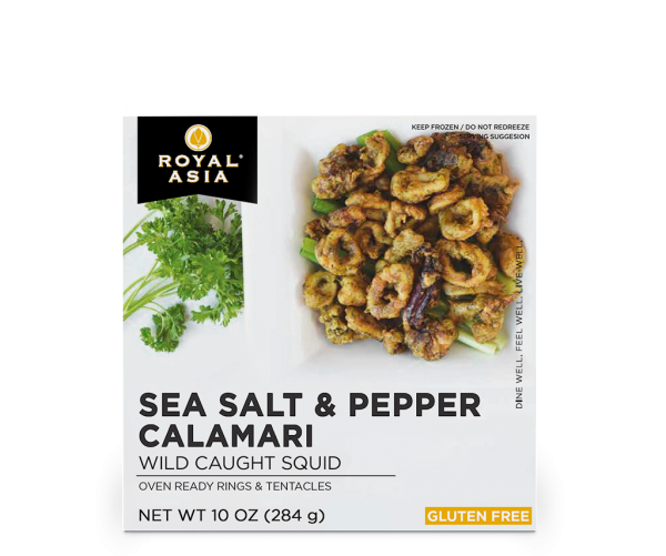 sea salt and pepper calamari