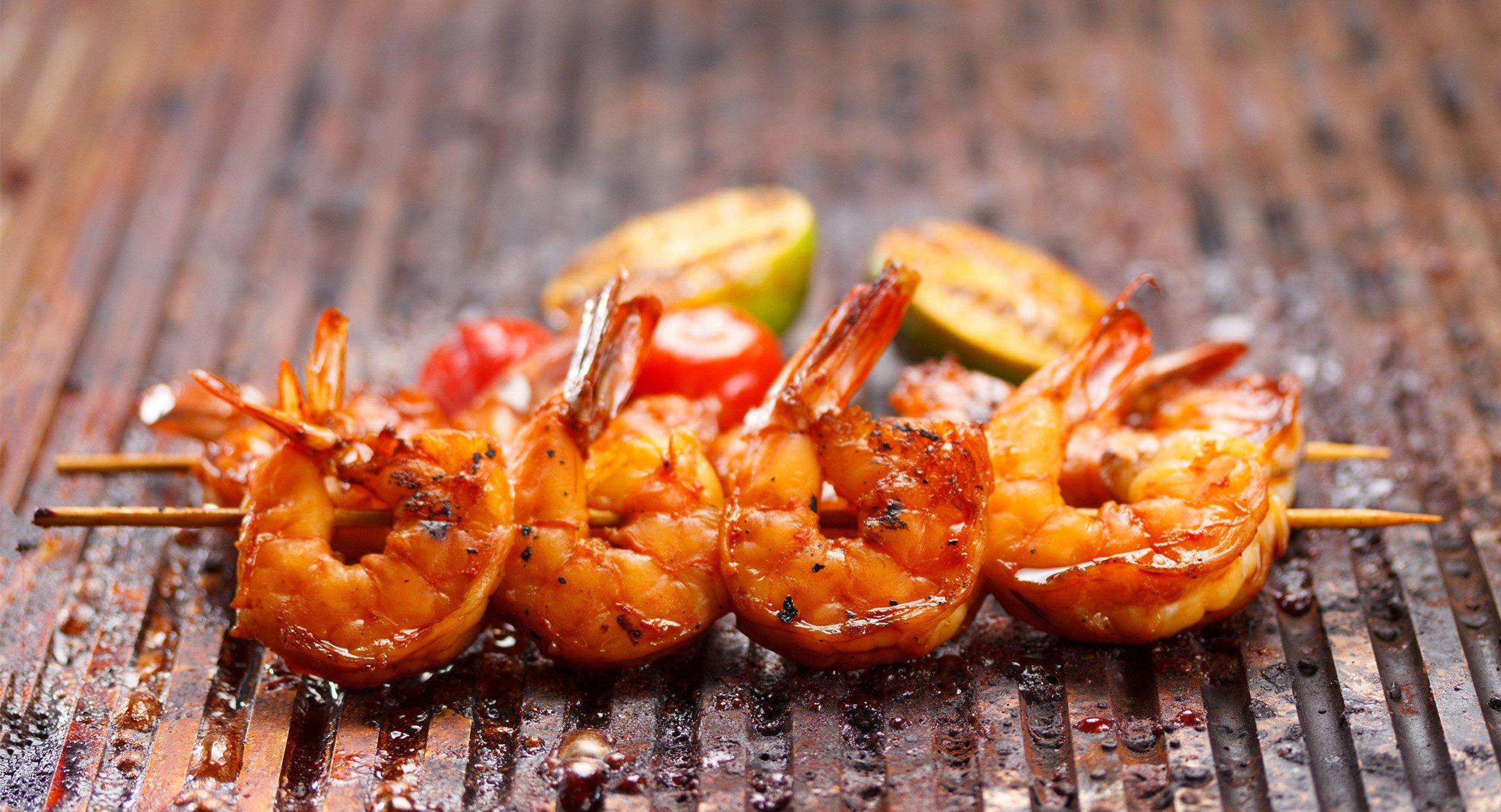 bbq shrimp kebabs