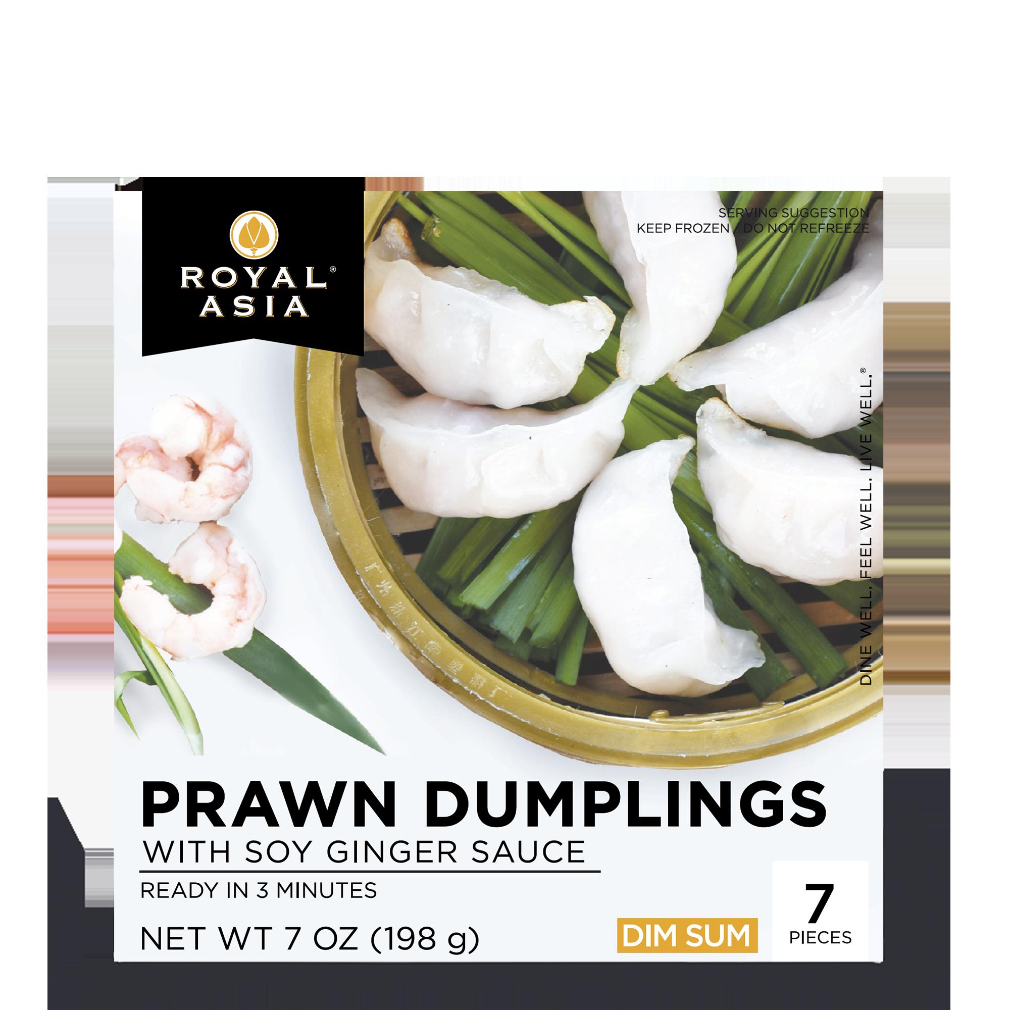 royal asian prawn dumplings